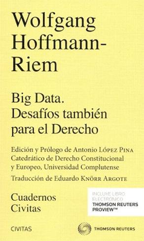 BIG DATA. DESAFÍOS TAMBIÉN PARA EL DERECHO (DÚO)