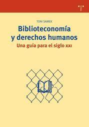 BIBLIOTECONOMÍA Y DERECHOS HUMANOS. UNA GUÍA PARA EL SIGLO XXI