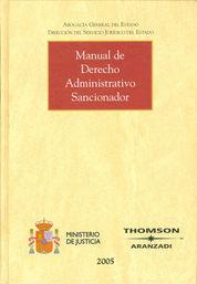 MANUAL DE DERECHO ADMINISTRATIVO SANCIONADOR