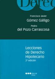 LECCIONES DE DERECHO HIPOTECARIO