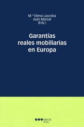 GARANTIAS REALES MOBILIARIAS EN EUROPA