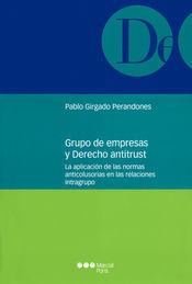 GRUPO DE EMPRESAS Y DERECHO ANTITRUST