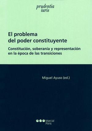 PROBLEMA DEL PODER CONSTITUYENTE EL