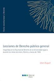 LECCIONES DE DERECHO PUBLICO GENERAL