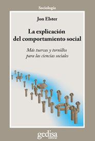 EXPLICACIÓN DEL COMPORTAMIENTO SOCIAL, LA