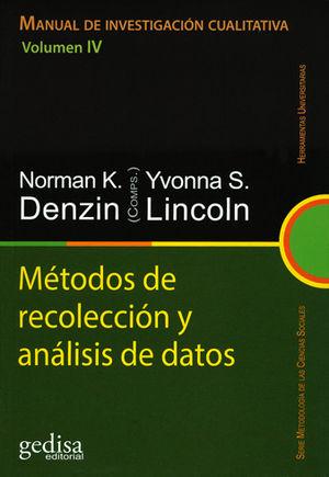MÉTODOS DE RECOLECCIÓN Y ANÁLISIS DE DATOS. VOLUMEN IV