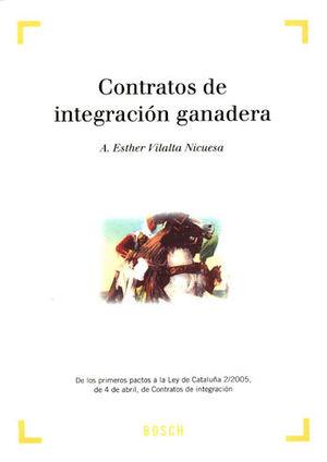 CONTRATOS DE INTEGRACIÓN GANADERA