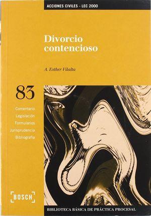 DIVORCIO CONTENCIOSO - LEC 2000