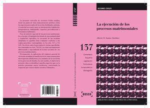EJECUCIÓN DE LOS PROCESOS MATRIMONIALES, LA