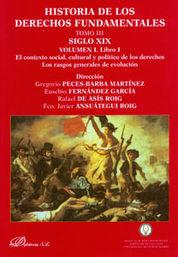 HISTORIA DE LOS DERECHOS FUNDAMENTALES TOMO III EN 5 LIBROS SIGLO XIX (3098 PAGINAS)
