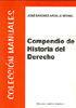 COMPENDIO DE HISTORIA DEL DERECHO