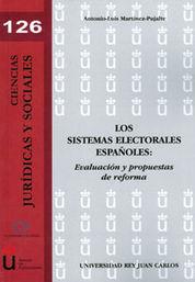 SISTEMAS ELECTORALES ESPAÑOLES, LOS