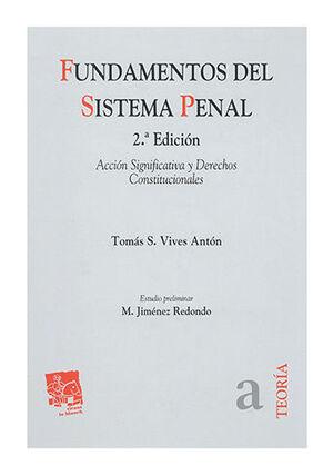 FUNDAMENTOS DEL SISTEMA PENAL 2ª ED.