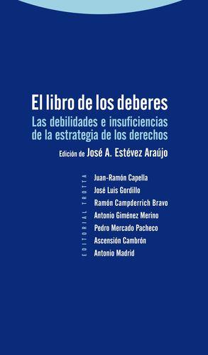 LIBRO DE LOS DEBERES, EL