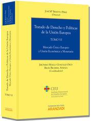TRATADO DE DERECHO Y POLÍTICAS DE LA UNIÓN EUROPEA (TOMO VI)