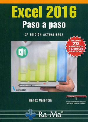 EXCEL 2016. PASO A PASO. 2ª EDICIÓN ACTUALIZADA
