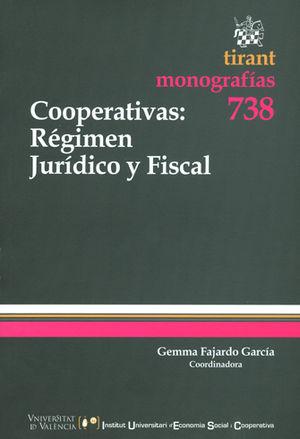 COOPERATIVAS - REGIMEN JURIDICO Y FISCAL