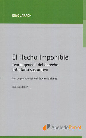 HECHO IMPONIBLE, EL 3ª ED.