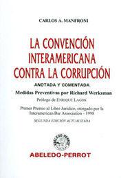 CONVENCIÓN INTERAMERICANA CONTRA LA CORRUPCIÓN, LA