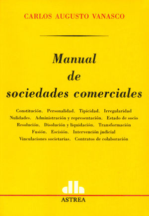MANUAL DE SOCIEDADES COMERCIALES