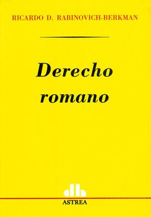 DERECHO ROMANO ( ASTREA )