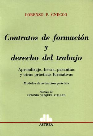 CONTRATOS DE FORMACION Y DERECHO DEL TRABAJO