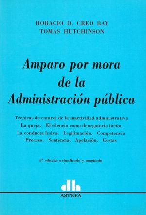 AMPARO POR MORA DE LA ADMINISTRACIÓN PÚBLICA