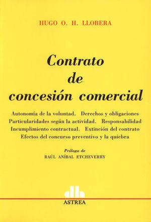 CONTRATO DE CONCESIÓN COMERCIAL