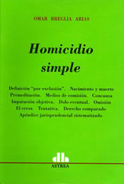 HOMICIDIO SIMPLE