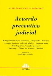 ACUERDO PREVENTIVO JUDICIAL