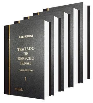 TRATADO DE DERECHO PENAL. PARTE GENERAL. 5 TOMOS