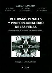 REFORMAS PENALES Y PROPORCIONALIDAD DE LAS PENAS