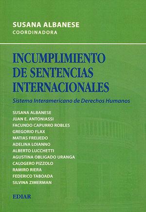 INCUMPLIMIENTO DE SENTENCIAS INTERNACIONALES