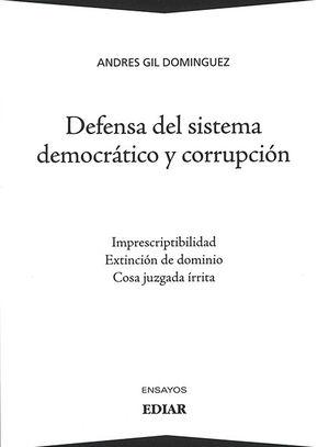 DEFENSA DEL SISTEMA DEMOCRÁTICO Y CORRUPCIÓN