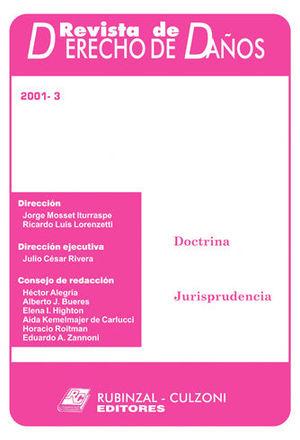 REVISTA DE DERECHO DE DAÑOS 2001 - 3 DAÑOS EN LA ACTIVIDAD COMERCIAL