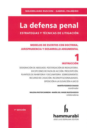 DEFENSA PENAL, LA (INTRODUCCIÓN 1)