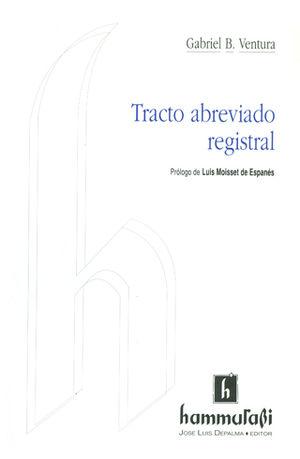 TRACTO ABREVIADO REGISTRAL