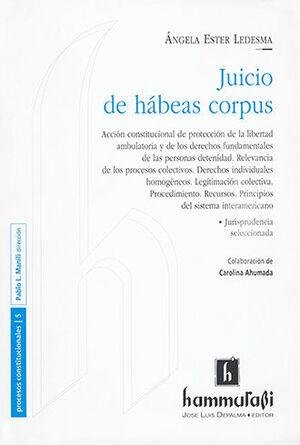 JUICIO DE HÁBEAS CORPUS