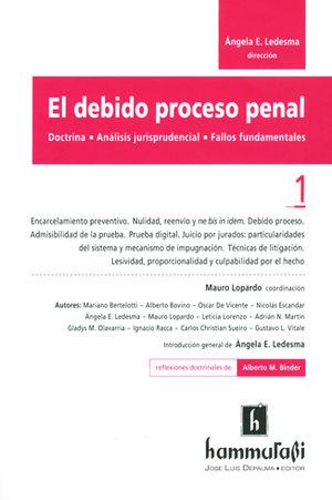 DEBIDO PROCESO PENAL, EL. VOL 1