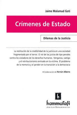 CRIMENES DE ESTADO