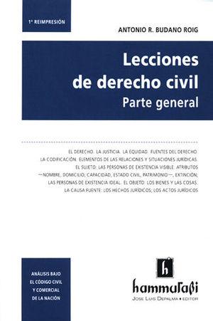 LECCIONES DE DERECHO CIVIL. PARTE GENERAL