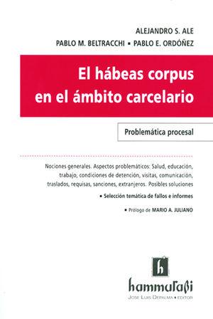 HÁBEAS CORPUS EN EL ÁMBITO CARCELARIO, EL