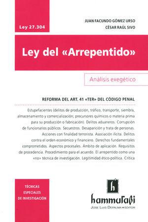 LEY DEL ARREPENTIDO