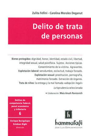 DELITO DE TRATA DE PERSONAS