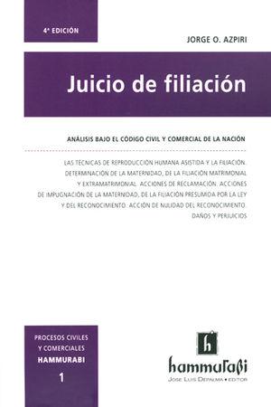 JUICIO DE FILIACIÓN