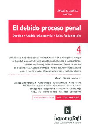 EL DEBIDO PROCESO PENAL VOL. 4