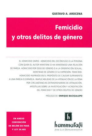 FEMICIDIO Y OTROS DELITOS DE GENERO