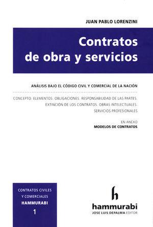 CONTRATOS DE OBRA Y SERVICIOS