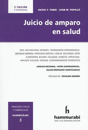 JUICIO DE AMPARO EN SALUD. VOLÚMEN 3