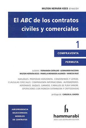 ABC DE LOS CONTRATOS CIVILES Y COMERCIALES, EL VOL. 1